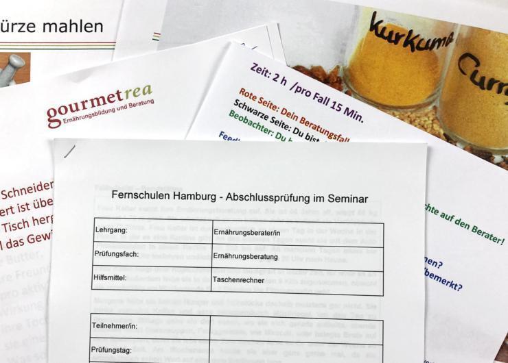 """Seminar """"Ernährungsberatung"""" mit Abschlussprüfung (135 Min.)"""